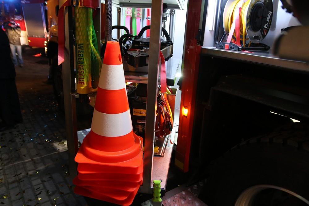 nowy wóz strażacki OSP Kamionki - Leon Bielewicz
