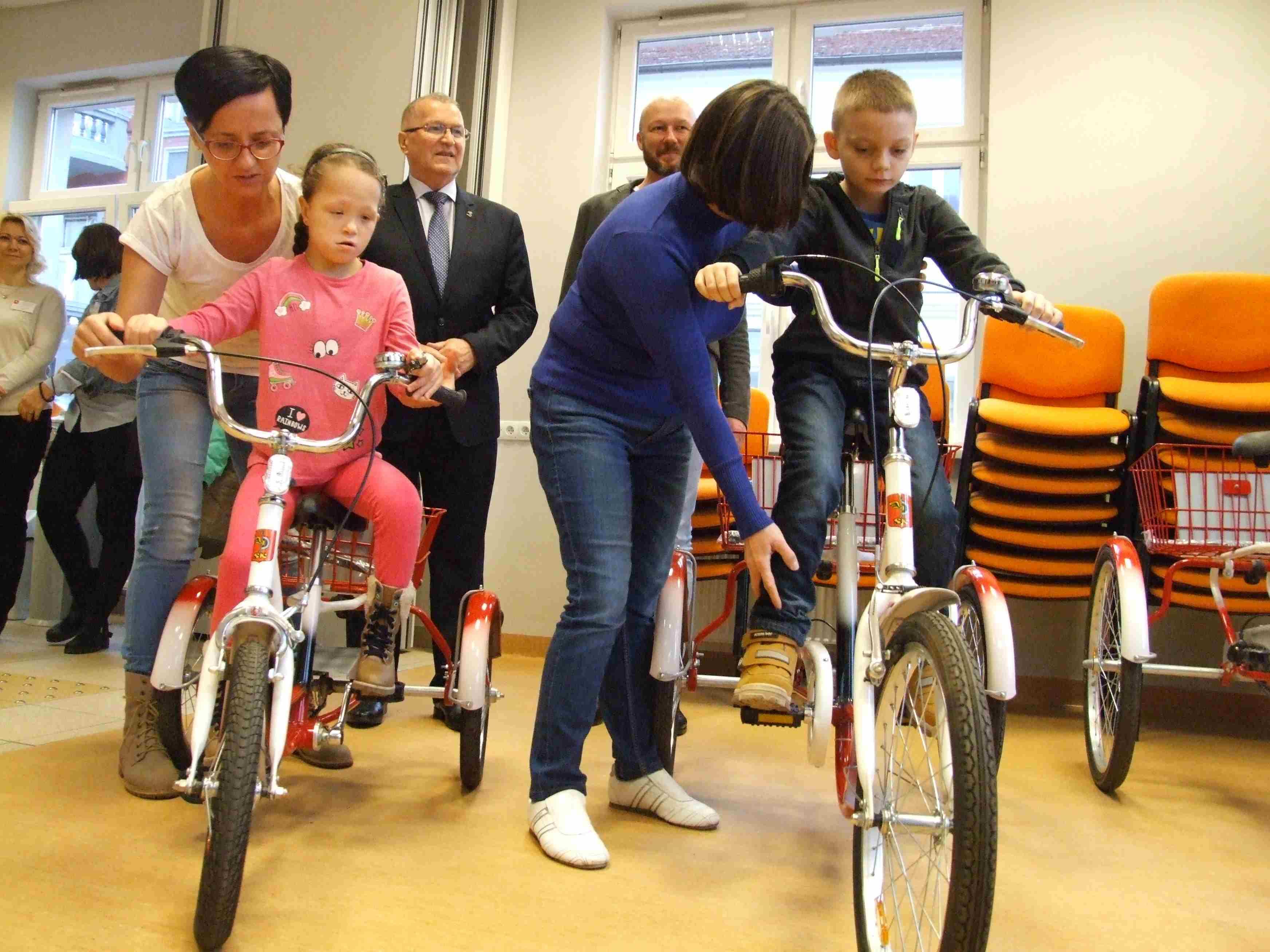 rowery dla niepelnosprawnych konin - Aleksandra Braciszewska-Benkahla