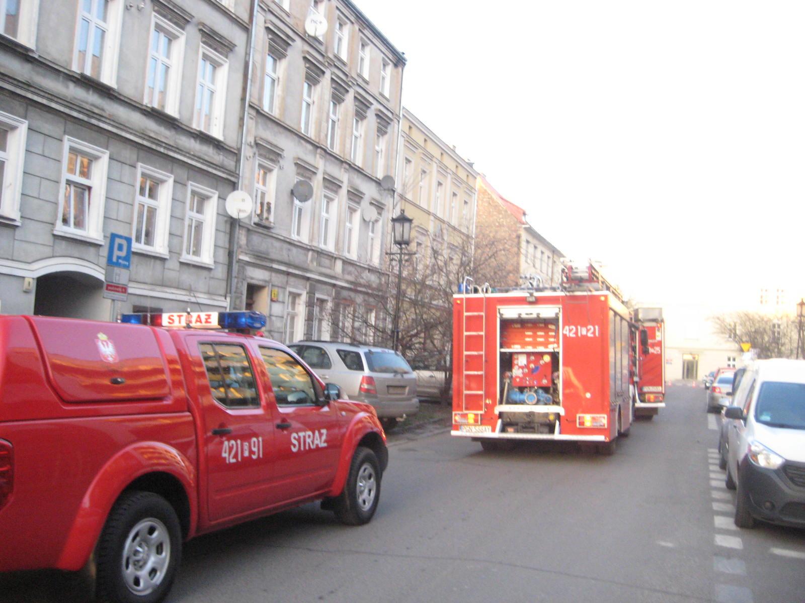 pożar mieszkania Gniezno - Rafał Muniak