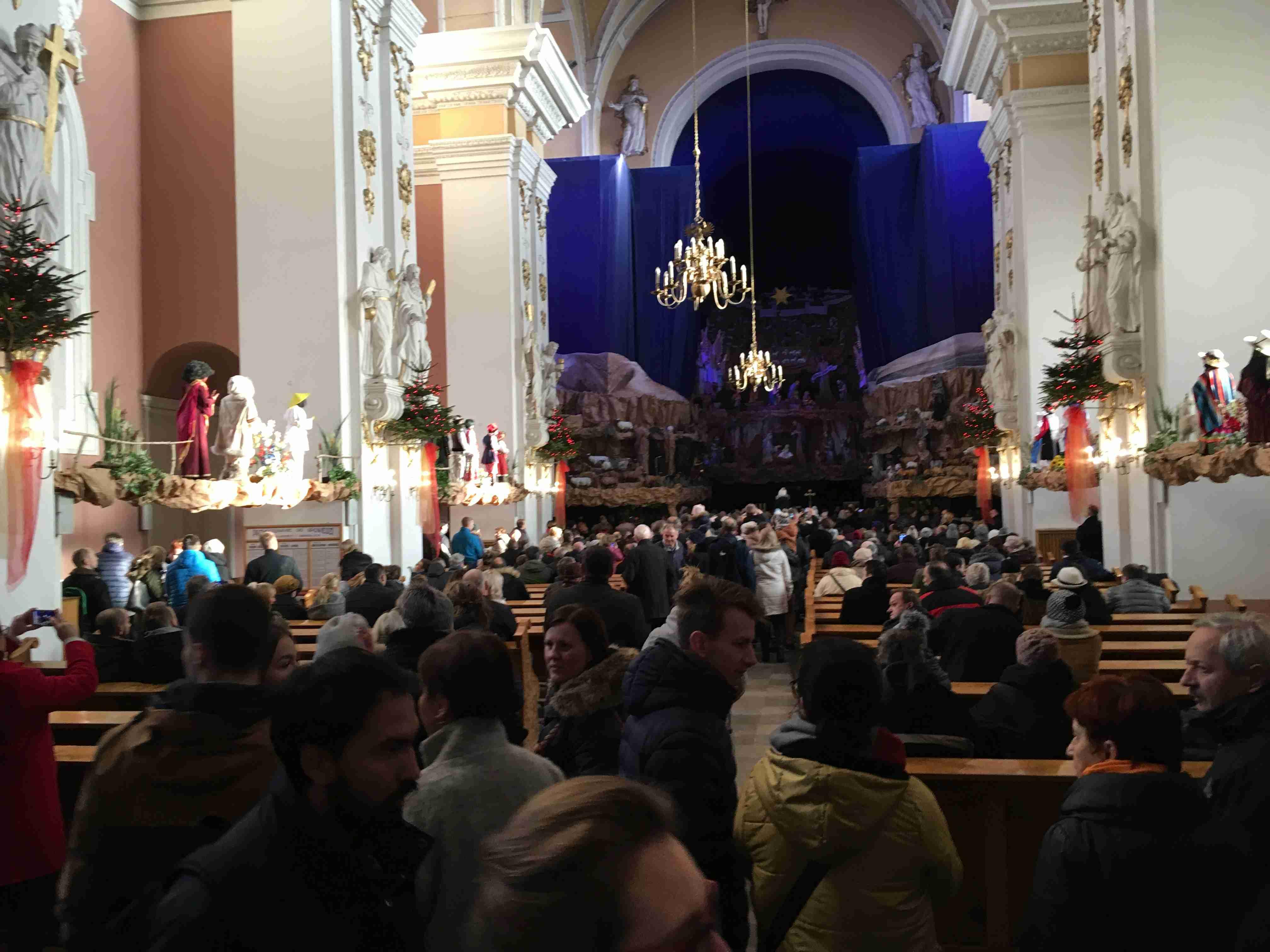 Goście odwiedzają żłóbek Poznań - Adam Michalkiewicz
