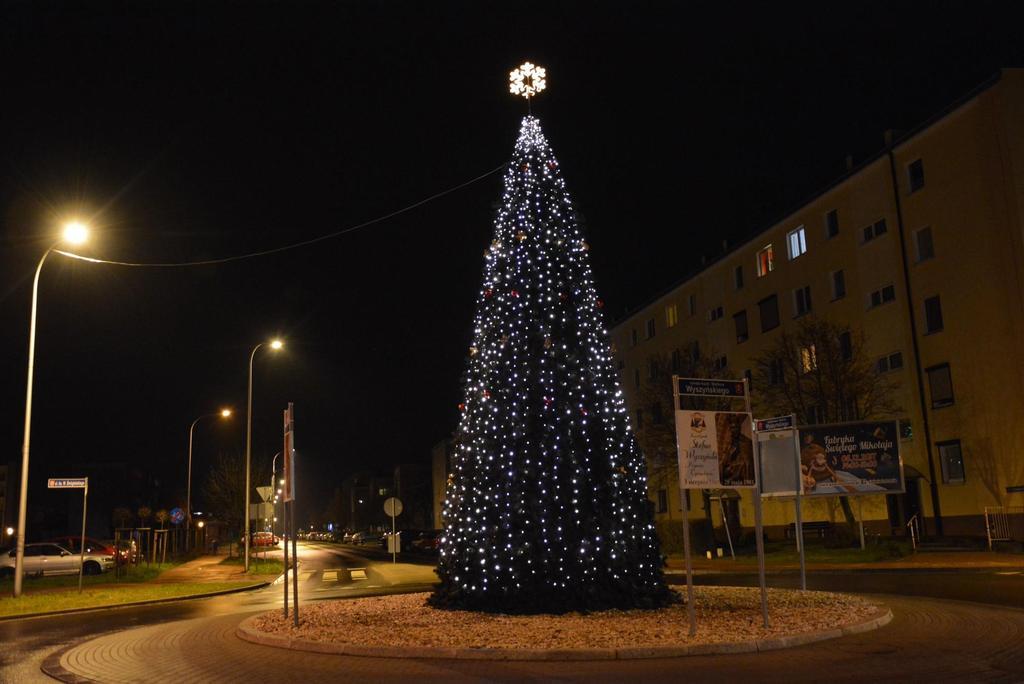 iluminacje świąteczne Ostrów konkurs Energa - Urząd Miasta Ostrowa Wielkopolskiego
