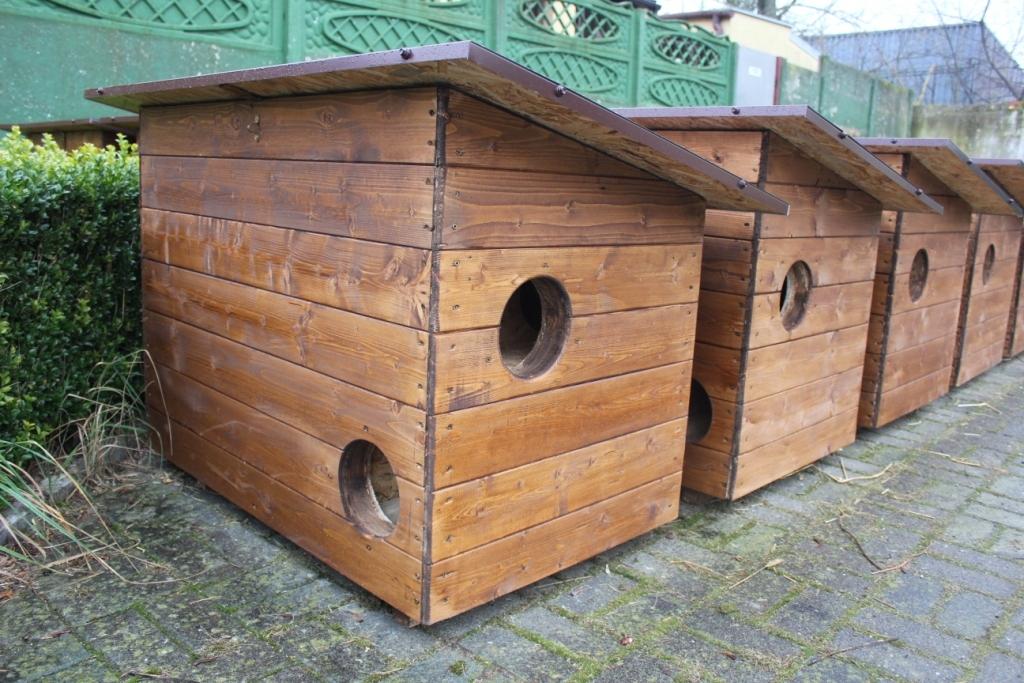domki domek dla kotów - Małgorzata Lamperska