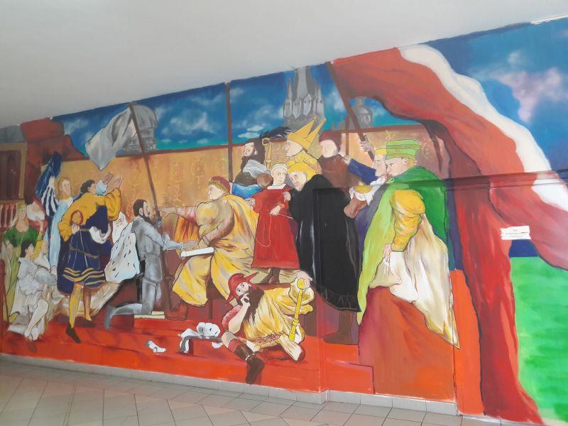 graffitti hołd pruski - Aleksandra Braciszewska-Benkahla
