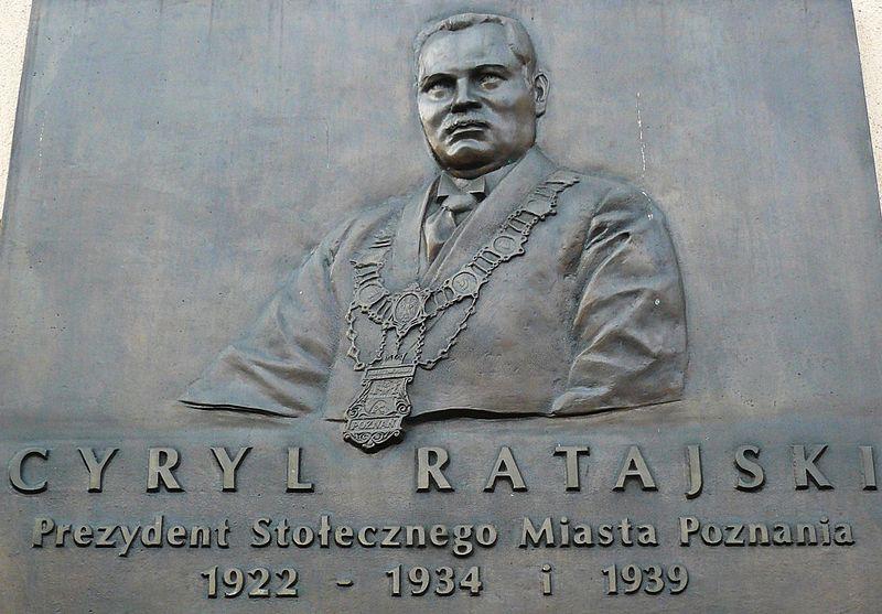 Cyryl Ratajski - Wikimedia Commons: CC: MOs810