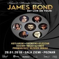 28 STYCZNIA, 007 JAMES BOND LIVE ON TOUR!