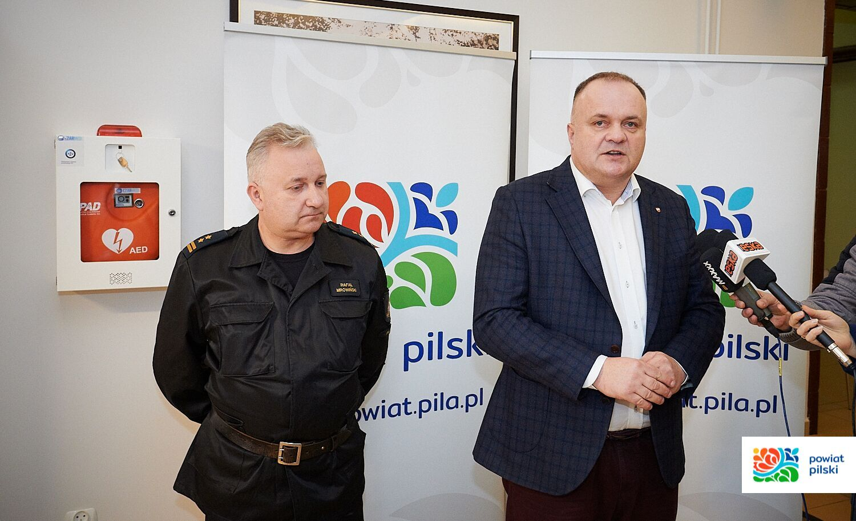 defibrylator piła starostwo - Starostwo Powiatowe w Pile