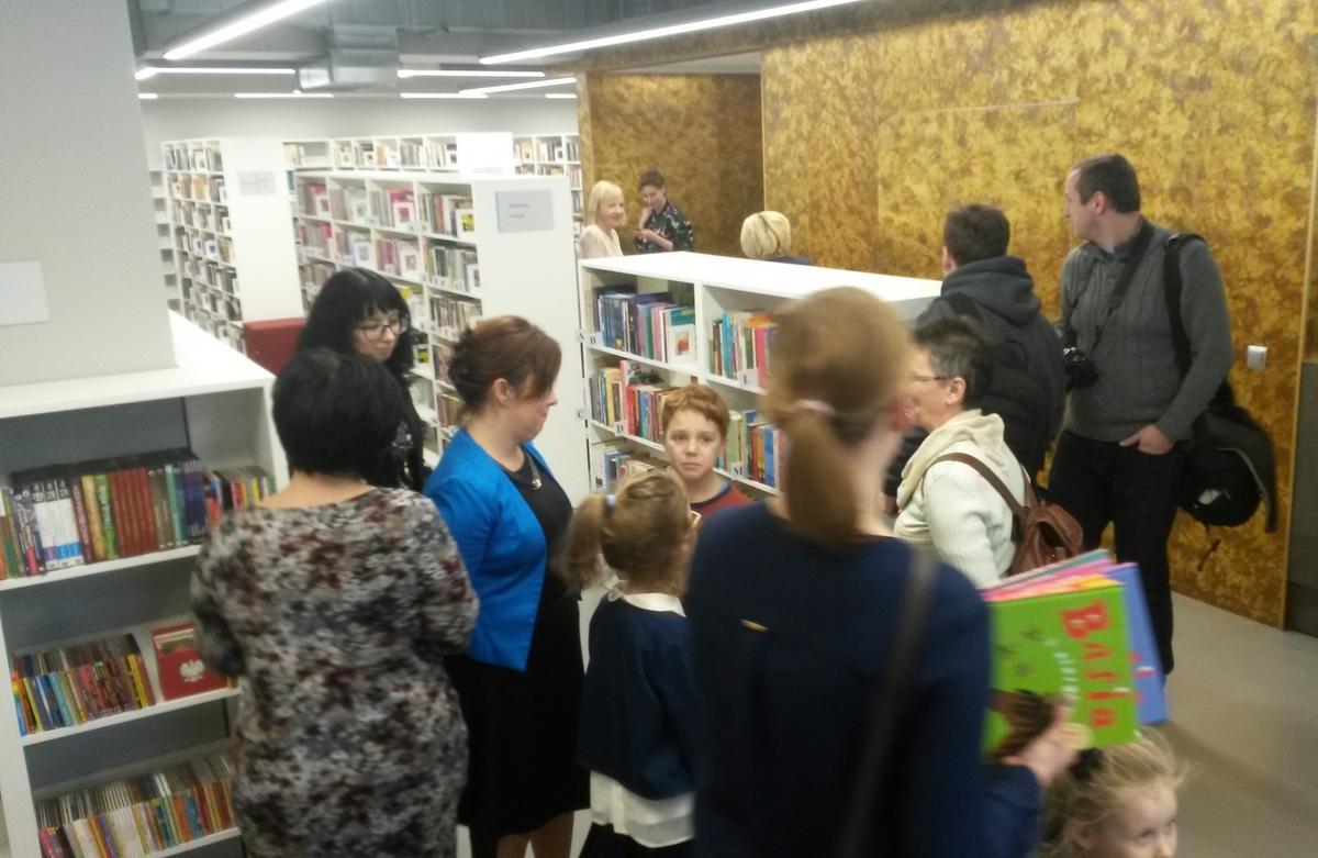 Biblioteka Raczyńskich otwarcie Rubież Naramowice - Jacek Butlewski