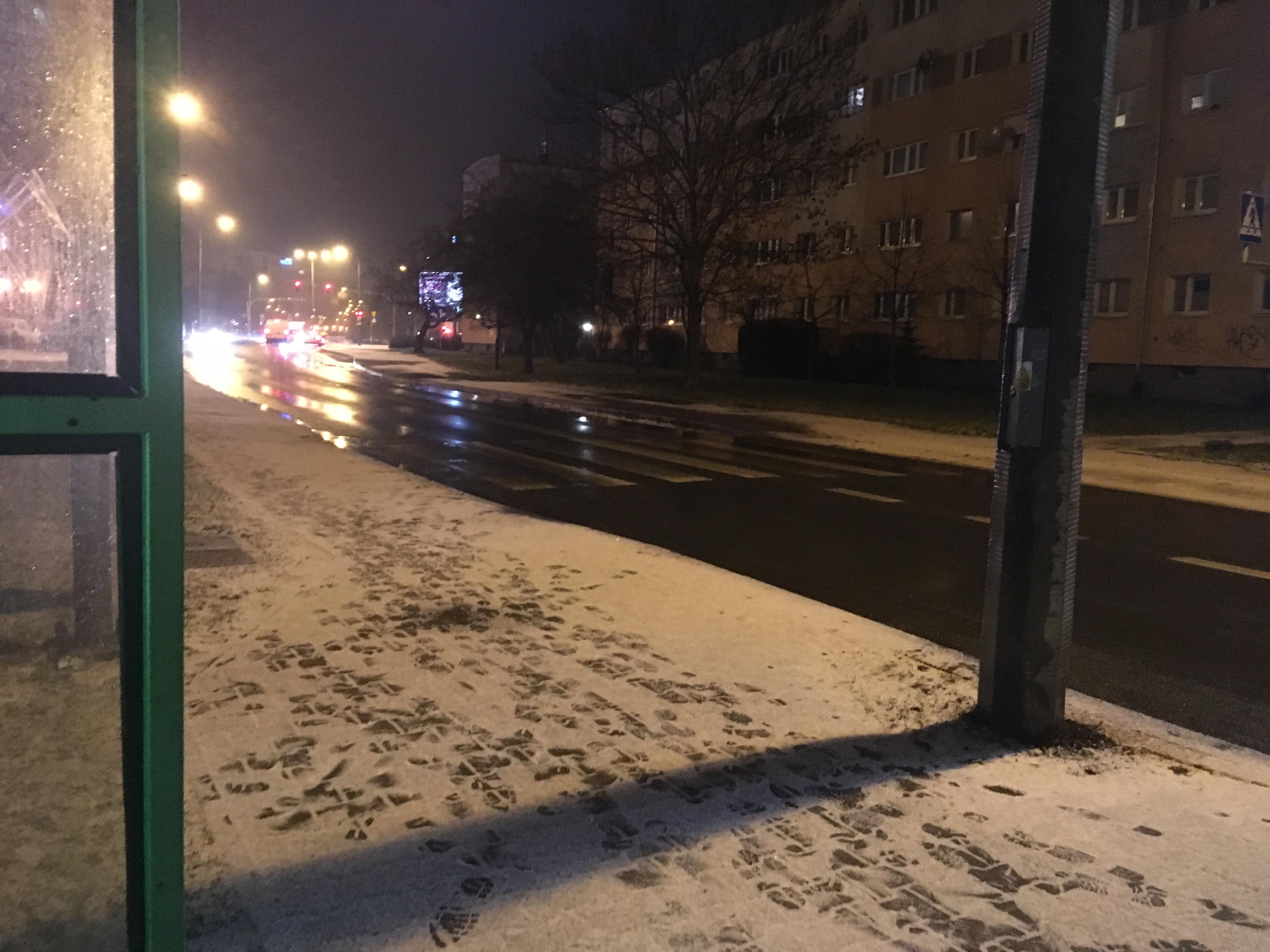śnieg ulica