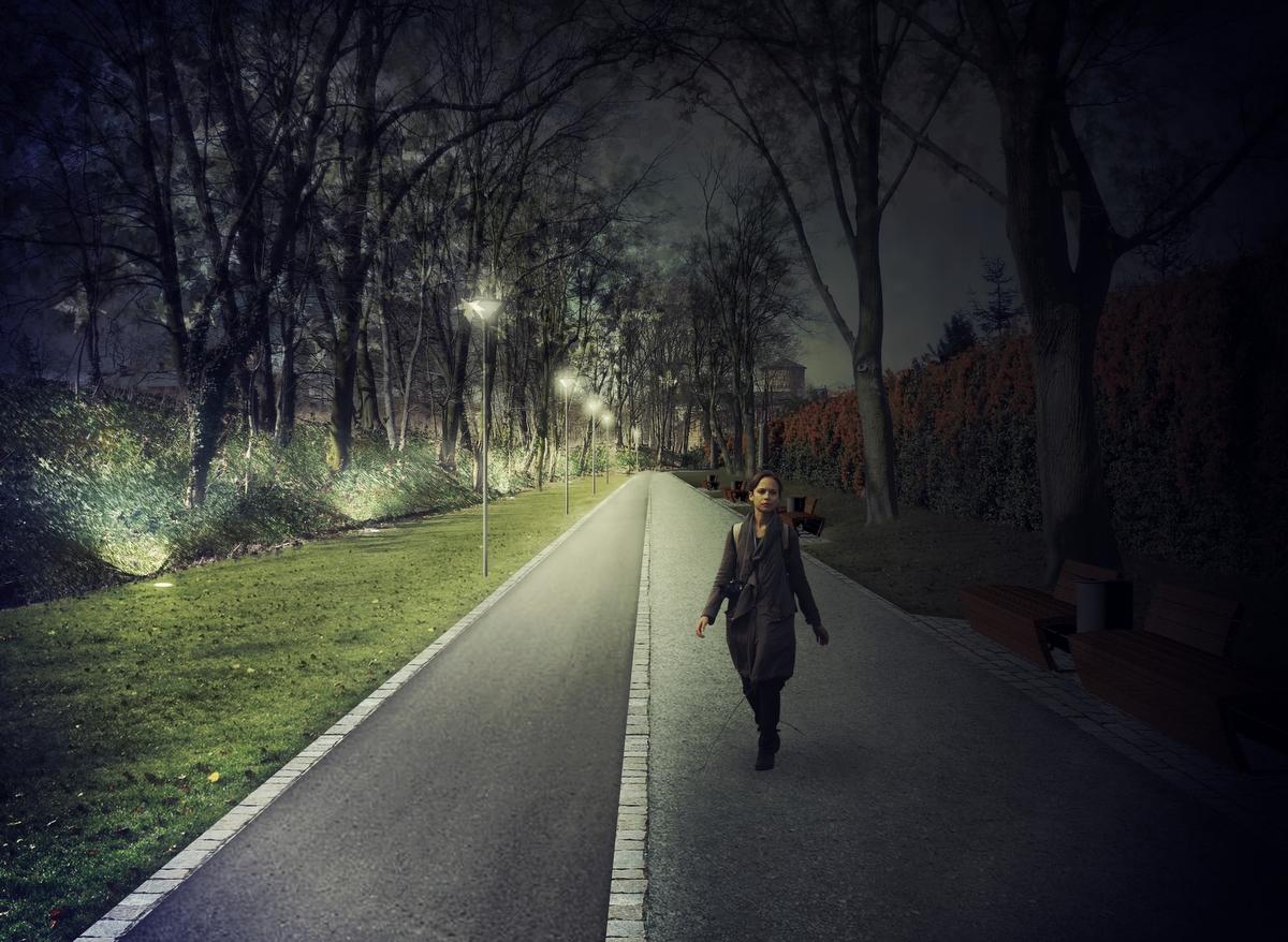 Rewitalizacja wałów miejskich Leszno - Urząd Miasta Leszno