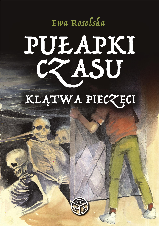 pulapki czasu okladka - Miejska Biblioteka Publiczna w Lesznie