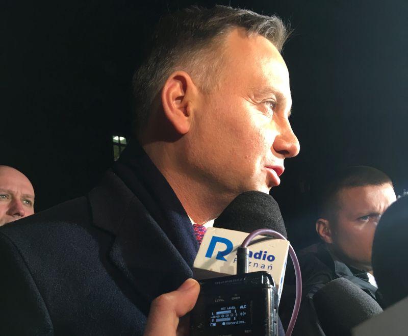prezydent Andrzej Duda w Poznaniu szpital Krysiewicza - Adam Michalkiewicz