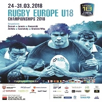 24-31 MARCA, RUGBY EUROPE U18 CHAMPIONSHIPS 2018