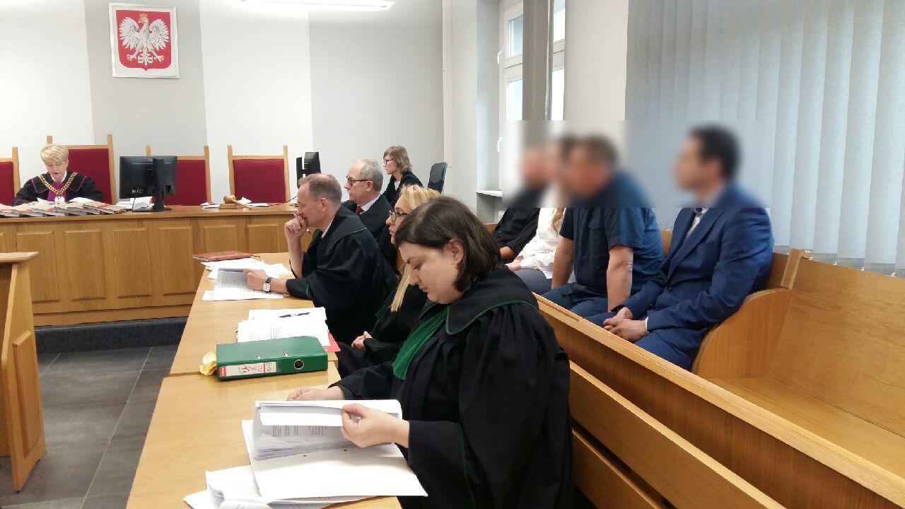 Magdalena Konieczna - policjanci proces