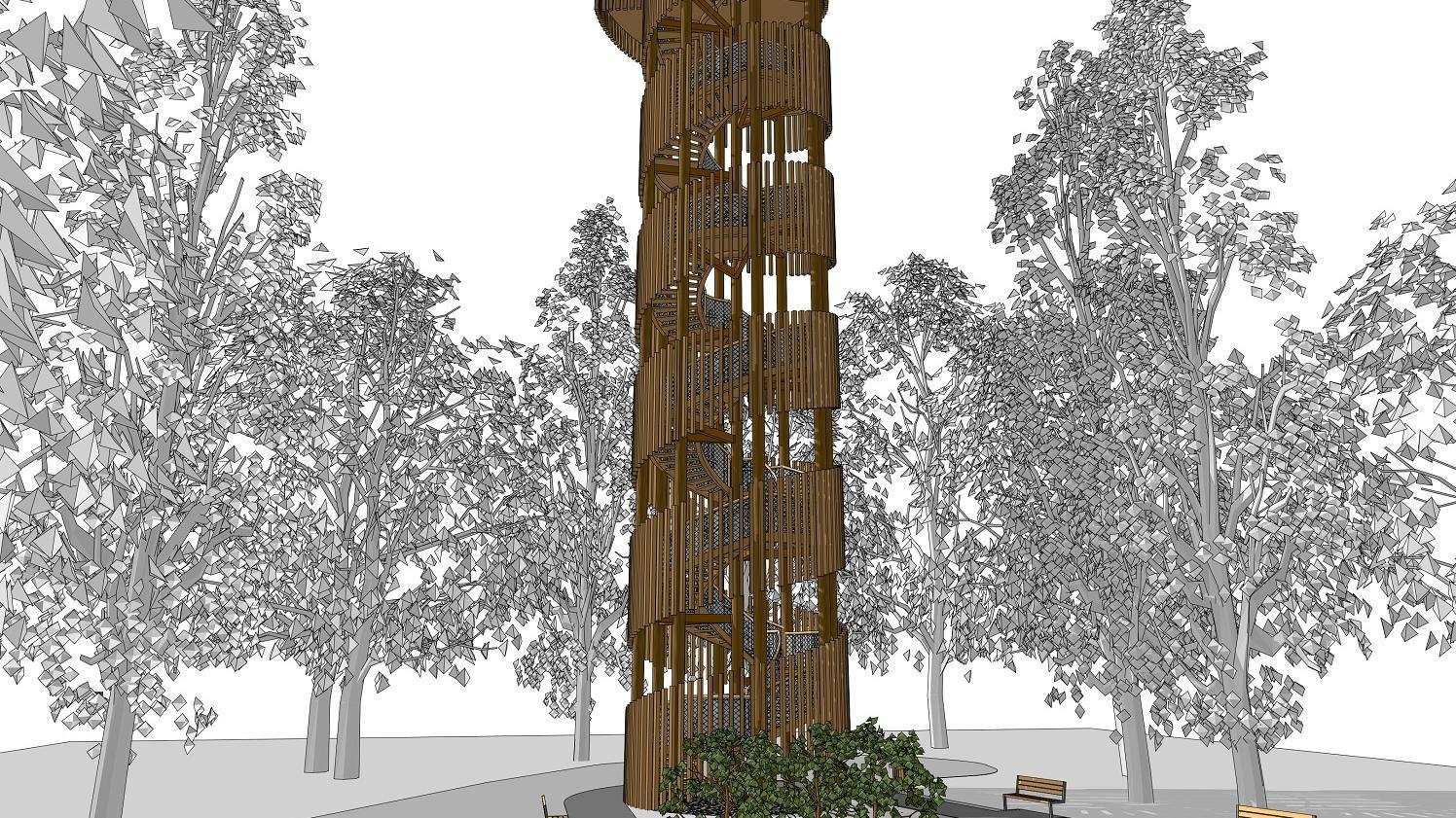 antoninek wieża projekt - Urząd Miasta Poznania