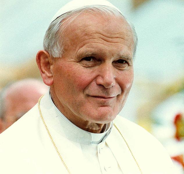 Papież Jan Paweł II - Leja - Wikipedia