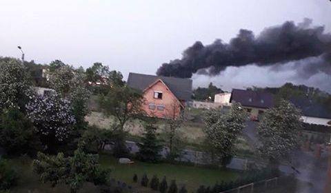 pożar czempiń - Maciej