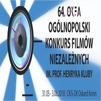 31 MAJA - 3 CZERWCA, 64. OGÓLNOPOLSKI KONKURS FILMÓW NIEZALEŻNYCH