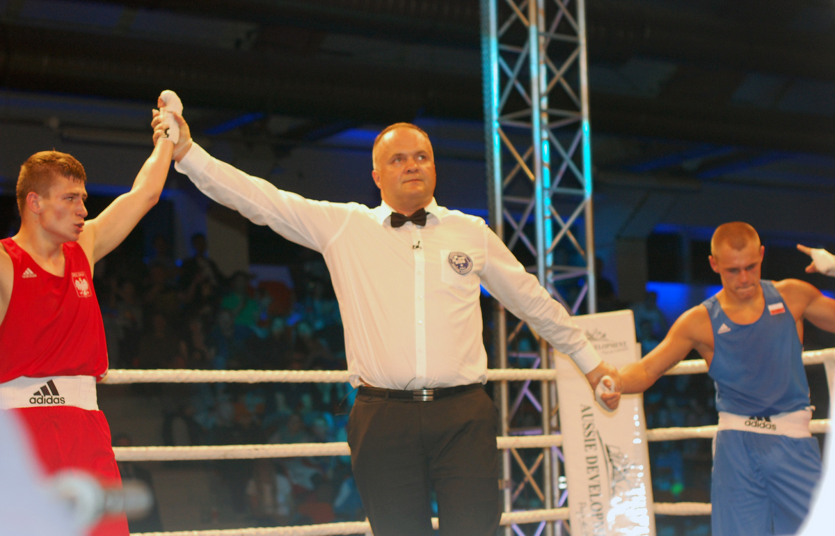 starosta pilski sędzia bokserski - Przemysław Stochaj