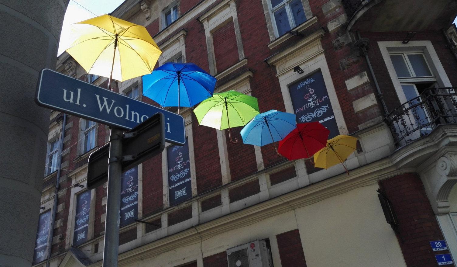 parasolki leszno - Miasto Leszno