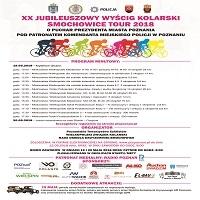 19-20 MAJA, XX JUBILEUSZOWY WYŚCIG KOLARSKI SMOCHOWICE TOUR 2018