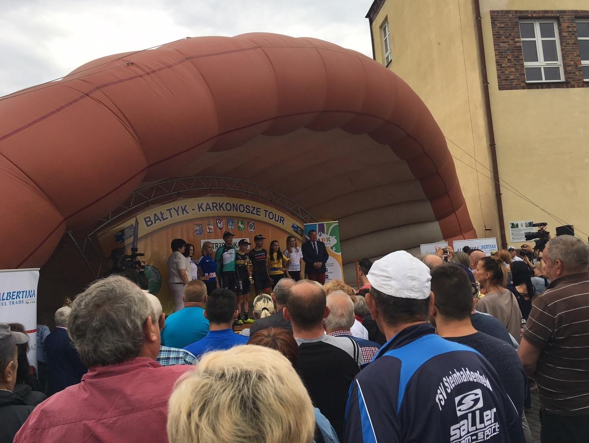 Międzynarodowy wyścig kolarski Bałtyk – Karkonosze Tour 2018 Trzcianka - Przemysław Stochaj