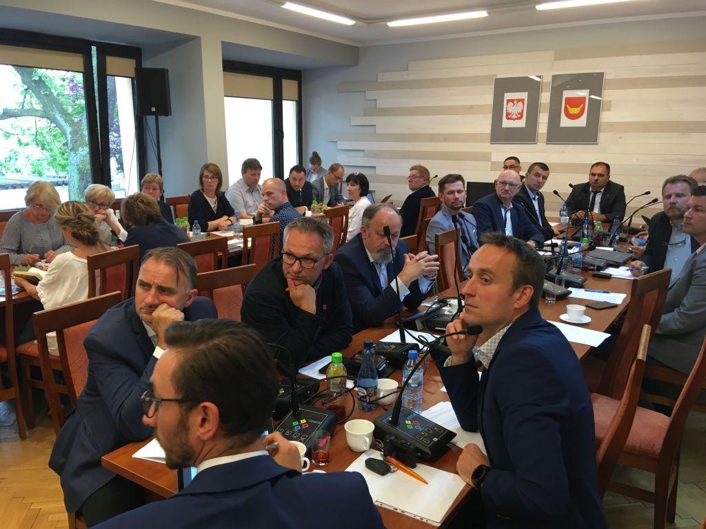 sesja nowy tomyśl rada radni - Andrzej Ciborski