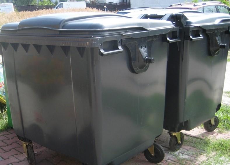 odpady śmietniki śmieci kosze kubły kontenery - Archiwum