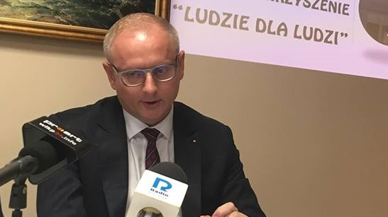 senator łukasz mikołajczyk ostrów - Danuta Synkiewicz