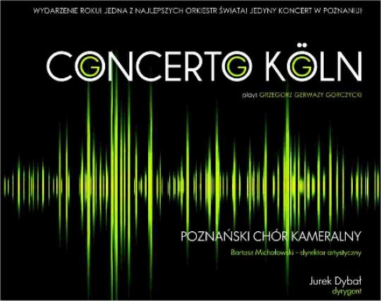 Concerto Koln - plakat