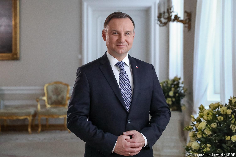 Prezydent RP Andrzej Duda - Kancelaria Prezydenta RP