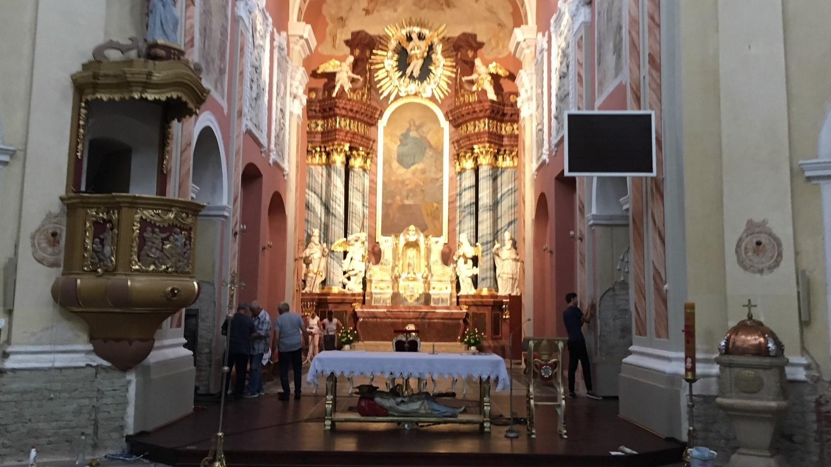 wyremontowano bazylikę w trzemesznie - Rafał Muniak