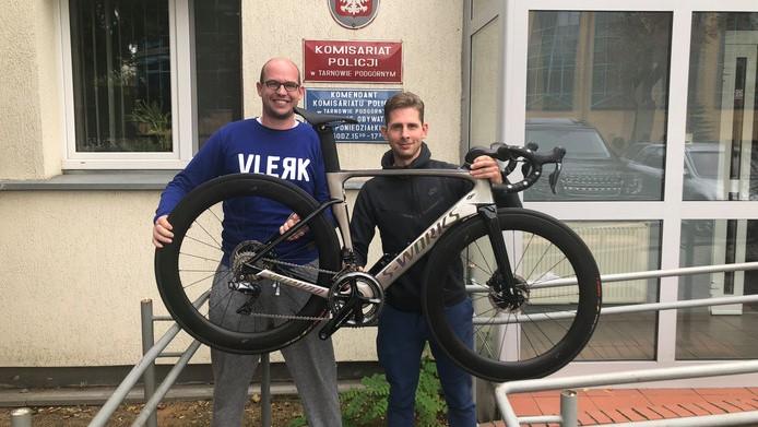 skradziony rower - Twitter @PolicjaWlkp