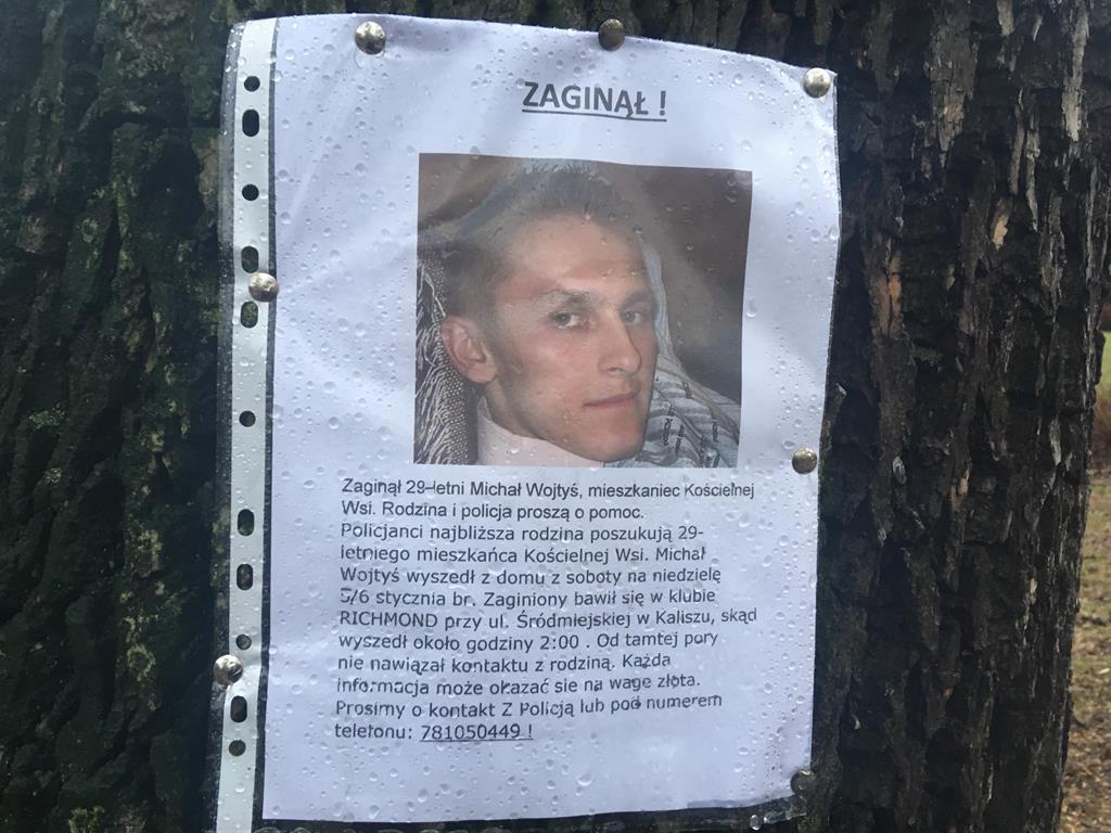 michał wojtyś kościelna wieć zaginiony poszukiwania - Danuta Synkiewicz - Radio Poznań