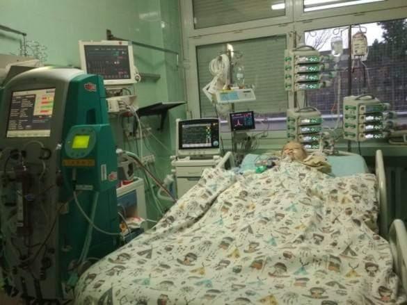 Ariadna Jedynak szpital - Facebook Basia Gliszczyńska
