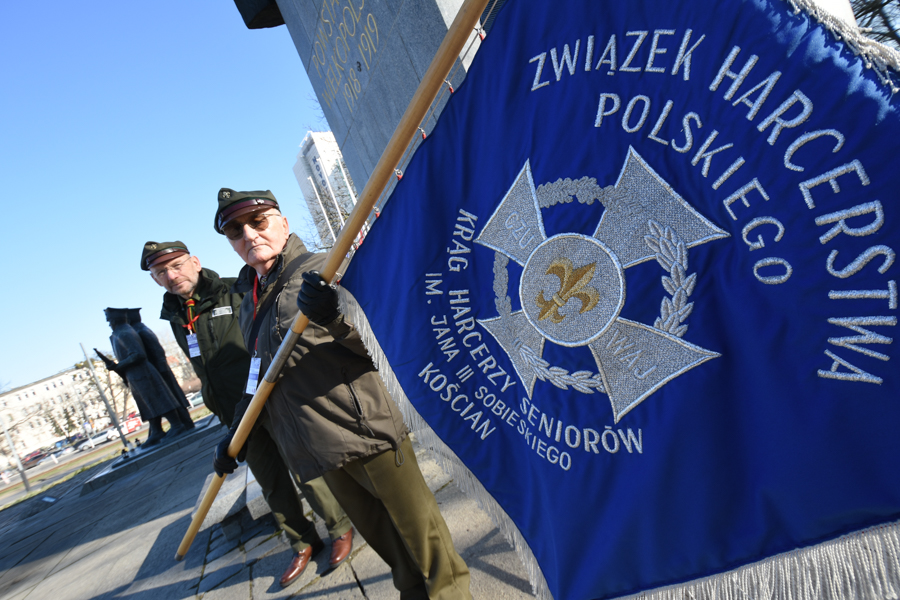 skwer skautów powstańców wielkopolskich - Wojtek Wardejn