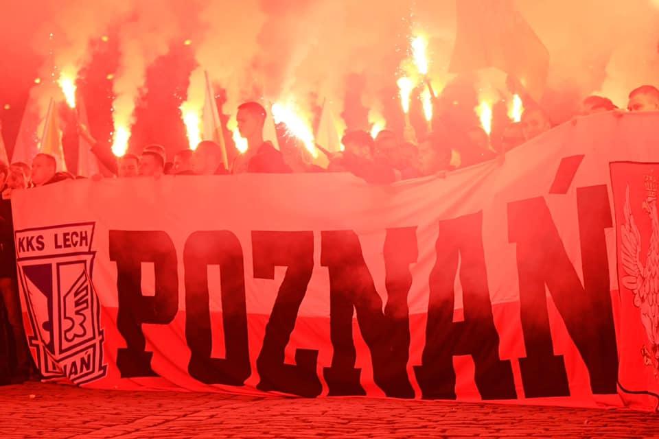 marsz zwycięstwa - Kibice Lecha Poznań - Facebook