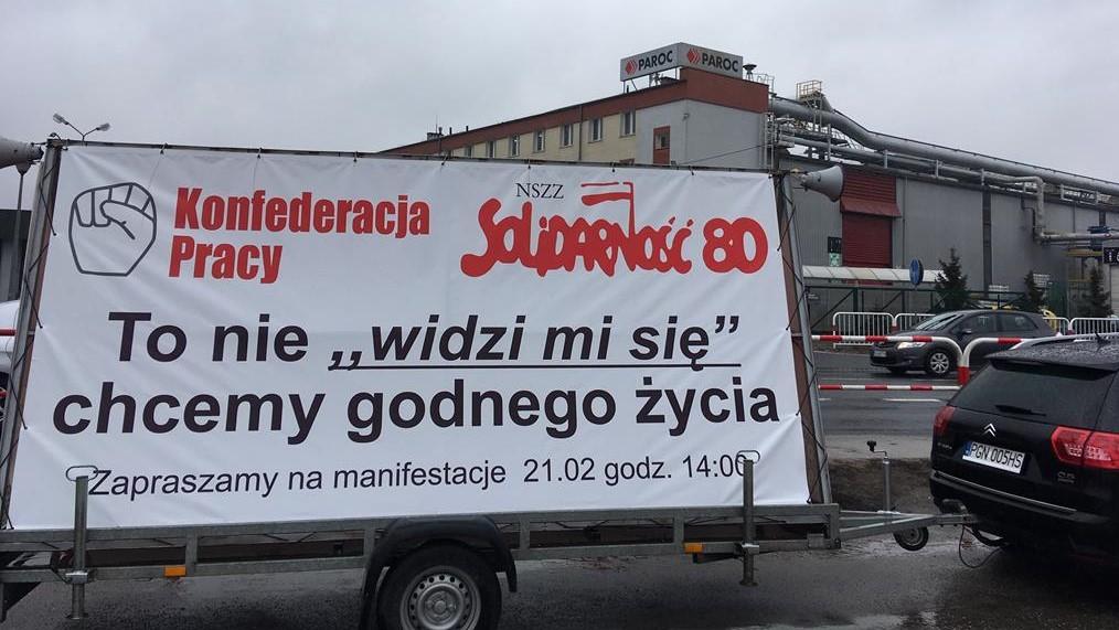 pikieta paroc trzemeszno - Rafał Muniak