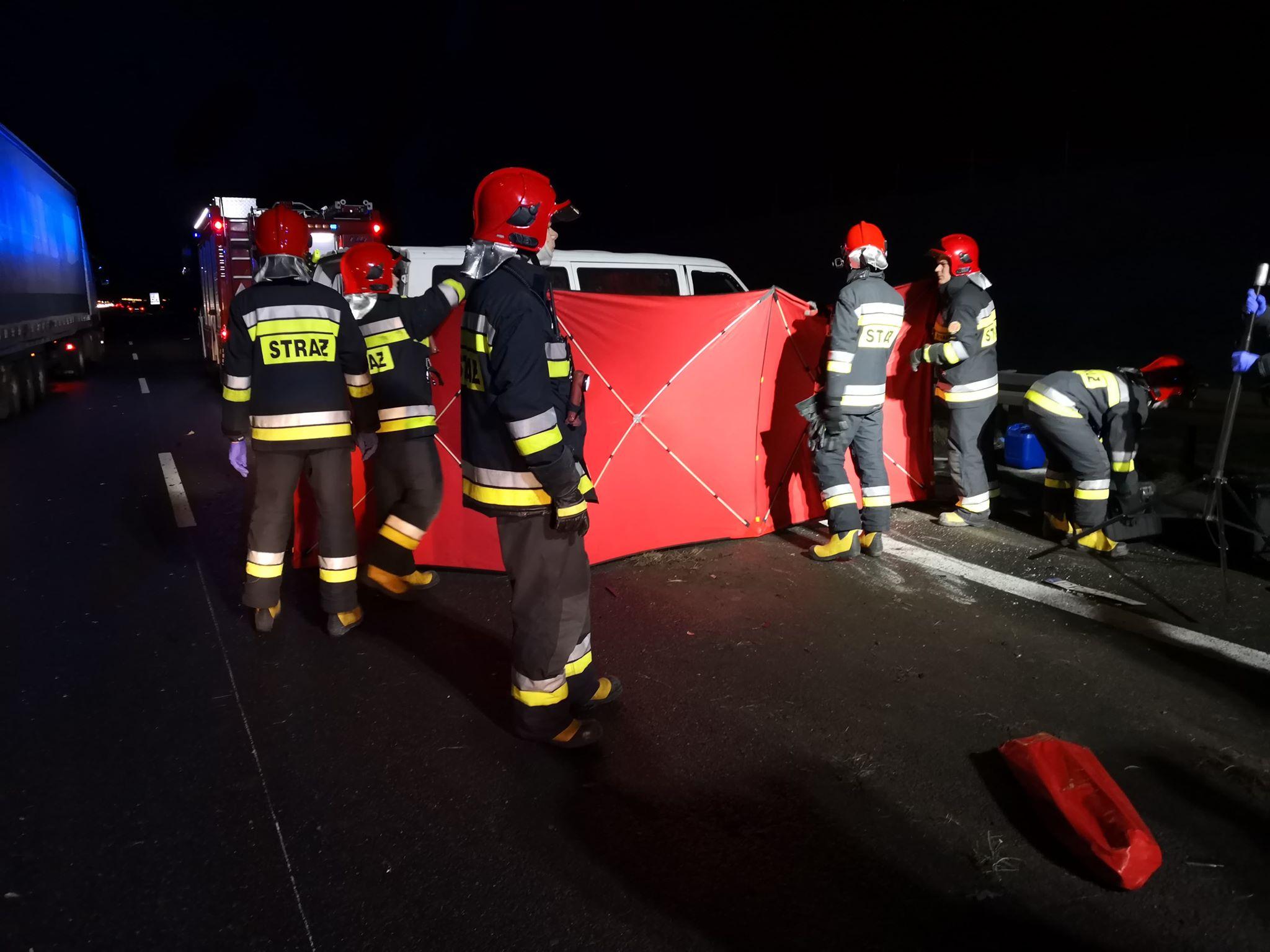 autostrada wypadek - Radio Poznań