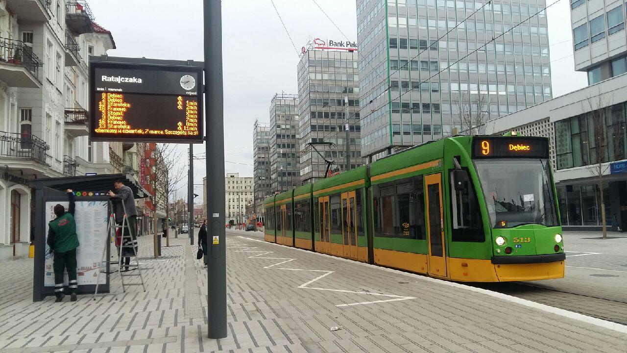 ulica święty marcin otwarcie tramwaj - Magdalena Konieczna