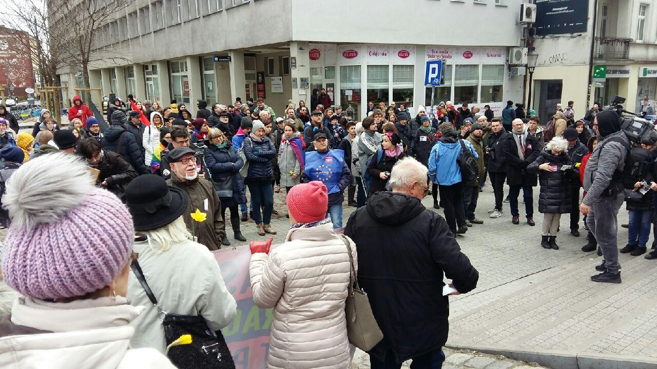 demonstracja faszyzm - Magda Konieczna