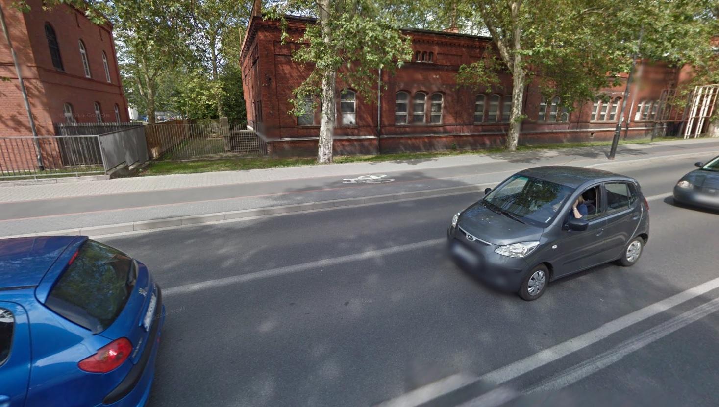 bukowska poznań - Google Street View