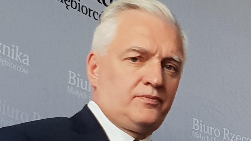 Jarosław Gowin  - Michał Jędrkowiak