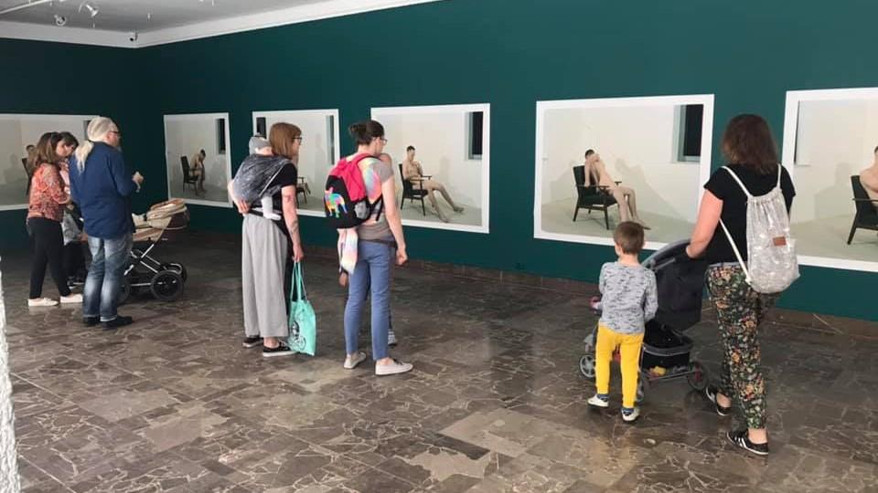 Wystawa Dziesięć minut przerwy, Bownik / Zbigniew Rogalski - FB: Galeria Arsenał