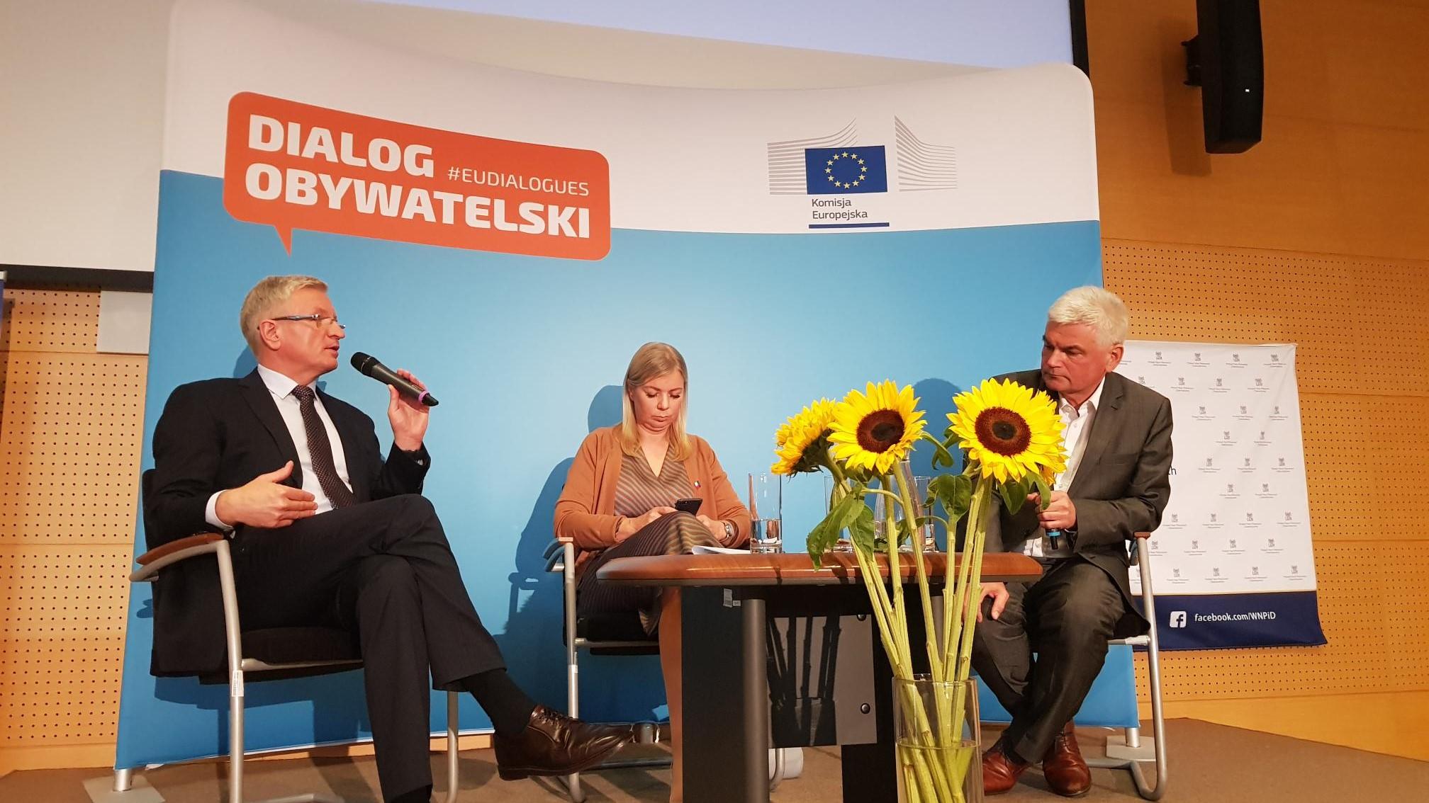 elżbieta bieńkowska debata z jackiem jaśkowiakiem - Hubert Jach