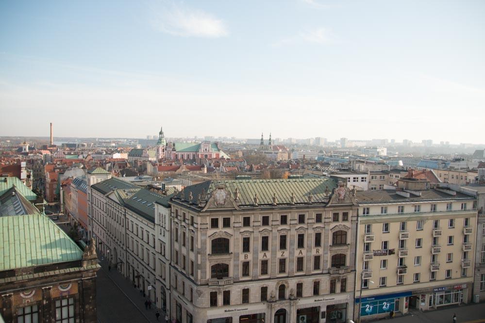 panorama poznania bazar - Wojtek Wardejn