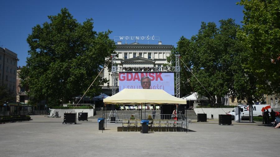 plac wolności obchody gdańskie relacja - Wojtek Wardejn