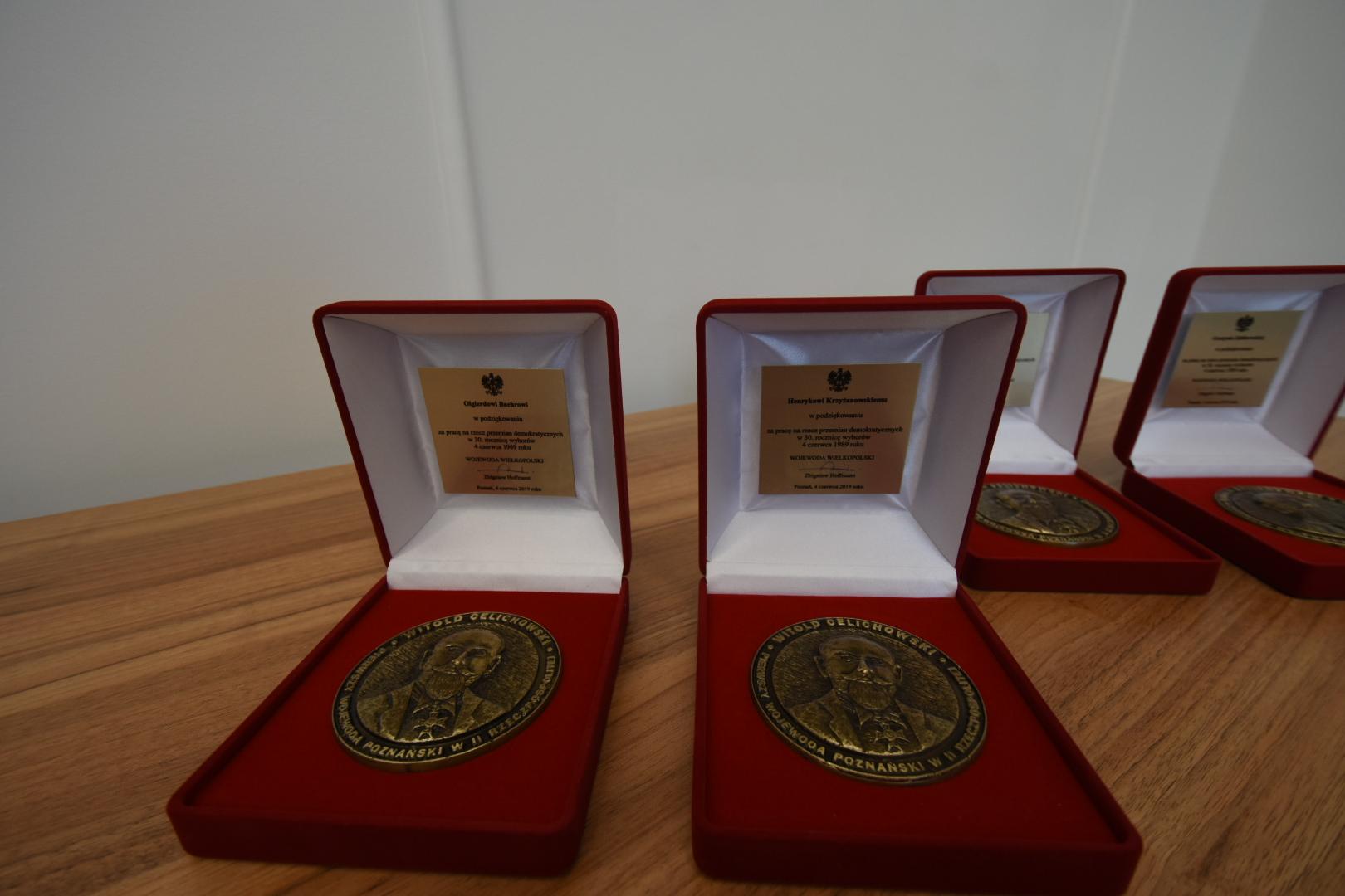 medale im. Witolda Celichowskiego - Wojtek Wardejn