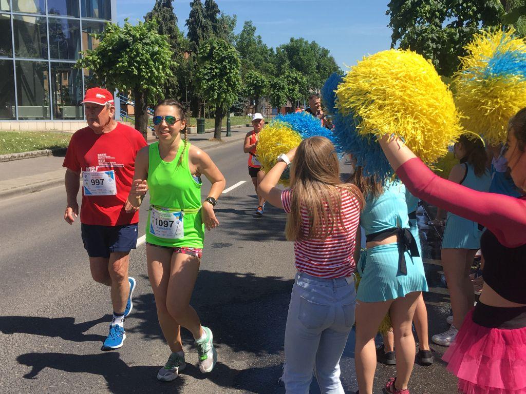 półmaraton słowaka Grodzisk5 - Rafał Regulski