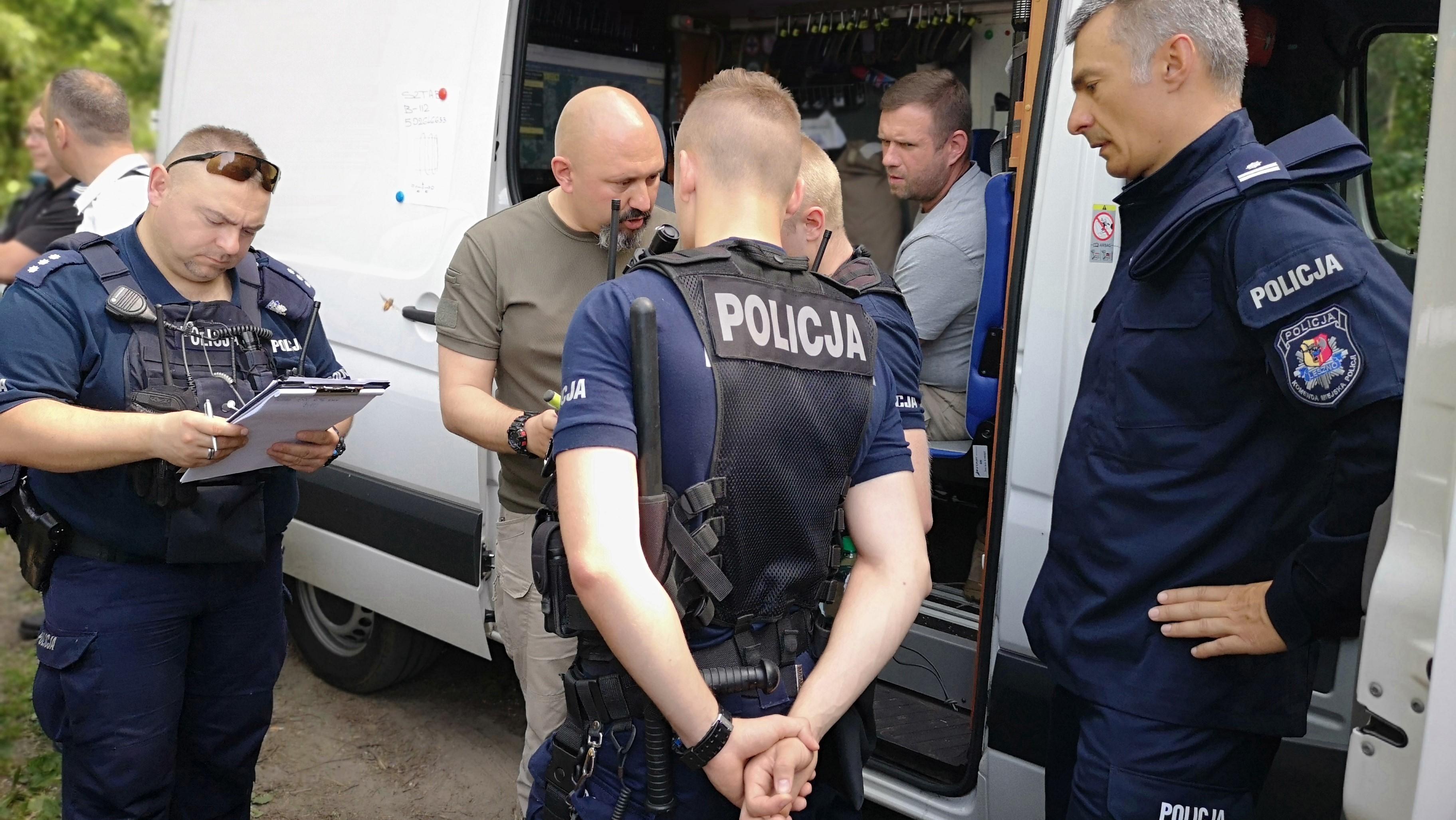 poszukiwania - Monika Żymełka - leszczyńska policja