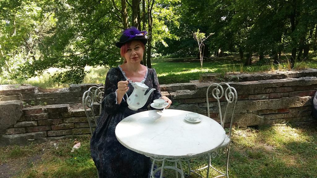 retro piknik szeląg - Magdalena Konieczna